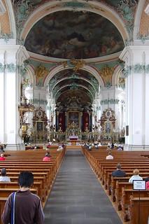 Obrázek Cathedral. church architecture geotagged schweiz switzerland europe suisse cathedral swiss prayer kathedrale kirche kecko ostschweiz architektur sg svizzera stgallen 2007 klosterhof andacht swissphoto geo:lat=47423075 geo:lon=9376305