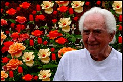 Paul Fuentes Among the Roses