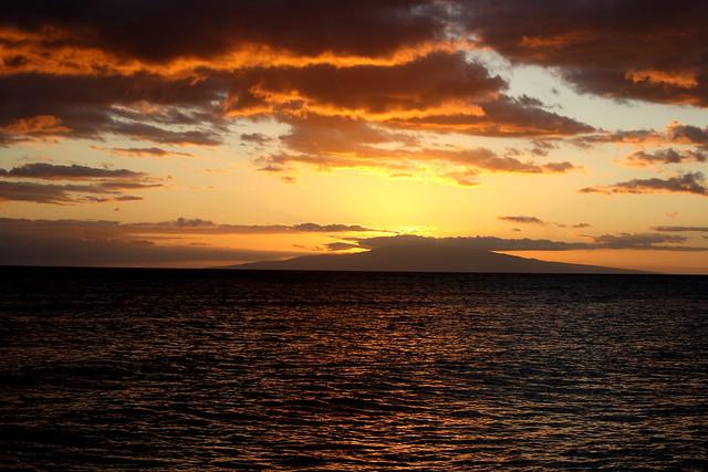 Kihei Beach Sunset