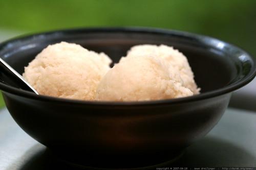 recipe: vegan young coconut ice cream    MG 3493