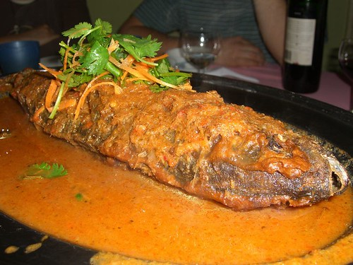 Malaysia Garden Special Fish Curry served at Kedawang Night Market
