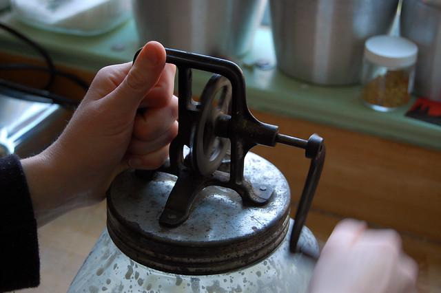butter churner