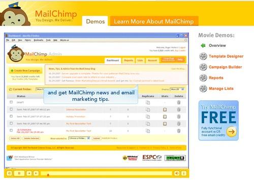 MailChimp > Demo