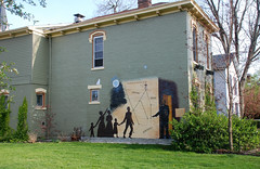 Underground Railroad Mural in Old Richmond
