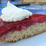Rezepte mit Rhabarber: Rhabarberkuchen umgedreht
