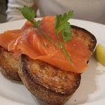 Smoked Salmon on Sourdough Toast - Mario