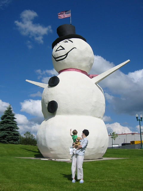 World's Largest Stucco Snowman, Canon POWERSHOT S330