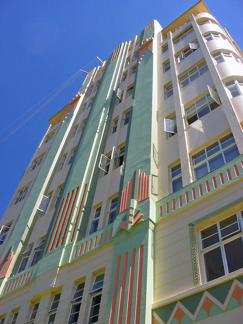 Art Deco Building -differnt angle
