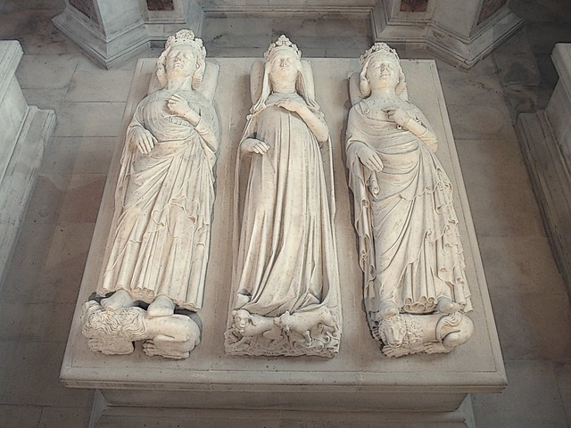 Medieval Royal Tombs In The Basilica Of Saint Denis A