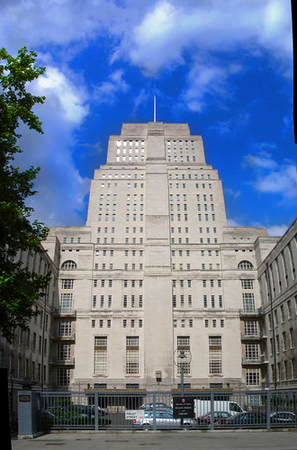 Senate House, Bloomsbury, London  - Location of Batman Begins & The Dark Knight by Craig Grobler