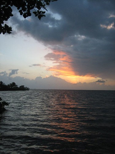 sea sky sunrise florida homestead bayfrontpark