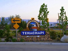 Historic Downtown Tehachapi Sign