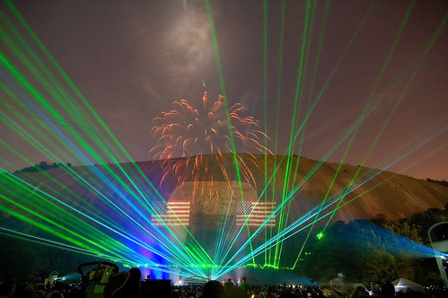 Lasers and Fireworks