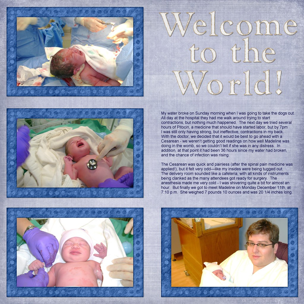 Welcome to the world!