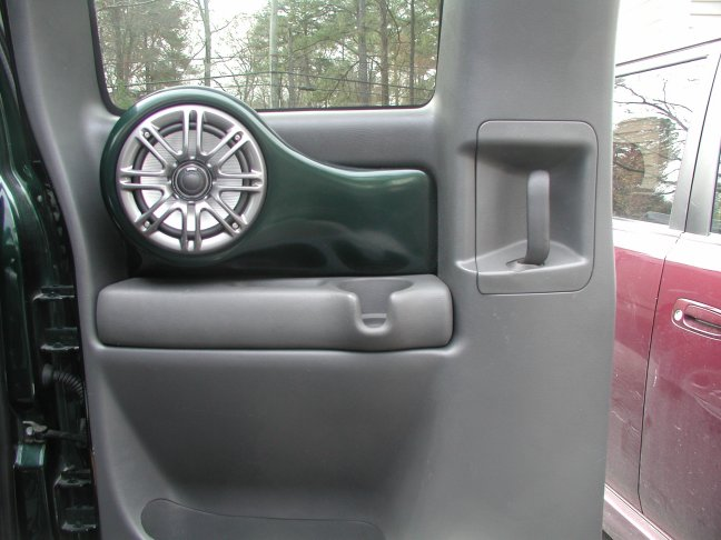 Anyone ever fiberglass rear door speakers for nbs ext cab for 04 chevy silverado door speakers