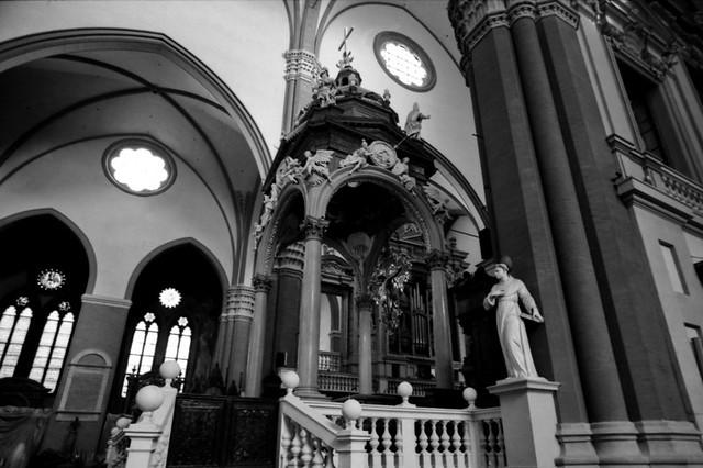 Inside the Basilica of Saint Petronio [Bologna - Italy]