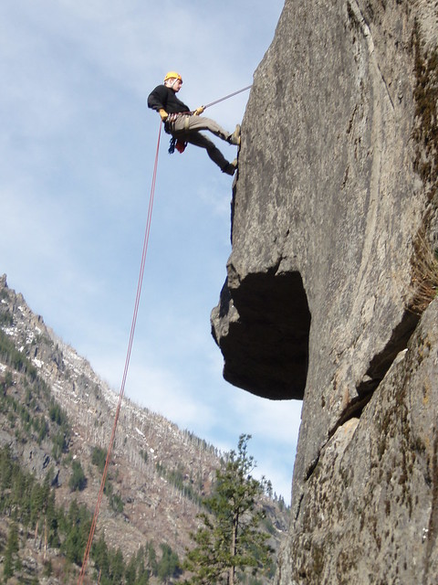 Paul going over the edge