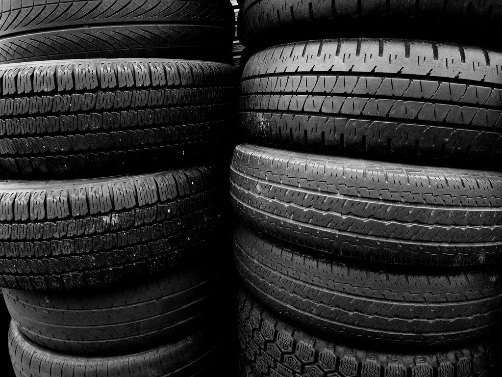 Tire's texture