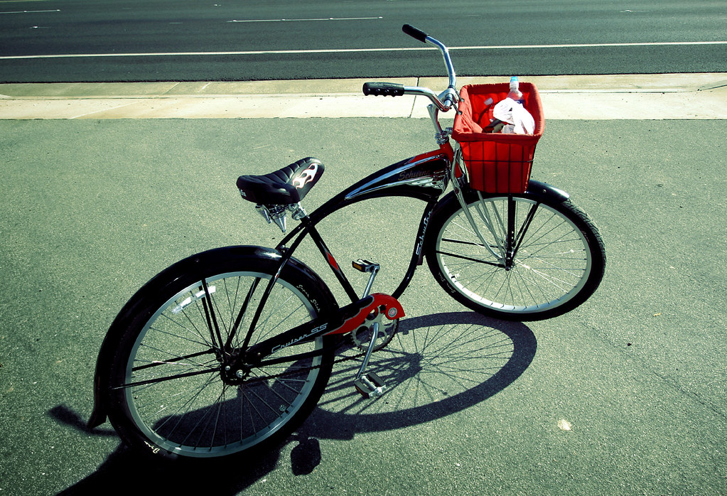 Beach Cruiser Bicycle Basket