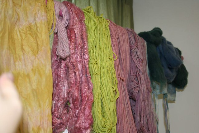 Organic Naturally Dyed Yarn