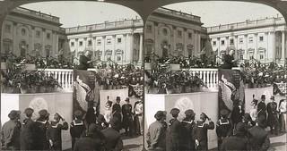 Teddy Roosevelt Inaugural Speech, 1905 (cross-eye)