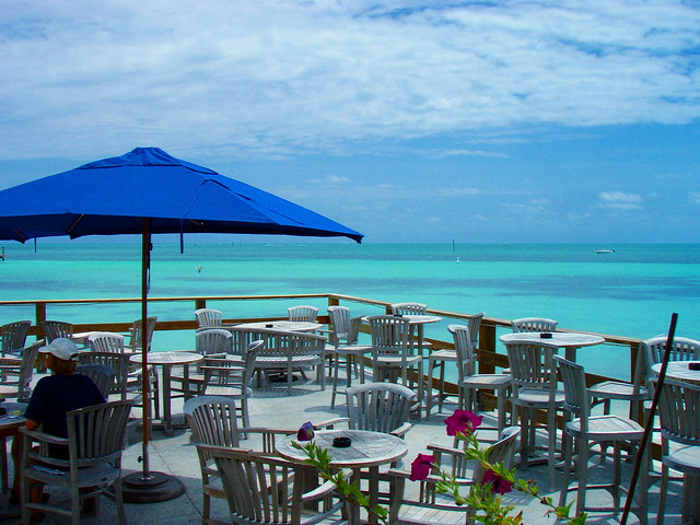 louie-kw07 | The deck at Louie's Backyard, Key West | By ...