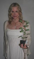 Daryl Hannah at RAN benefit party