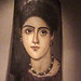 Mummy Portrait Faiyum Egypt Roman Period Encaustic on Wood 2nd century CE