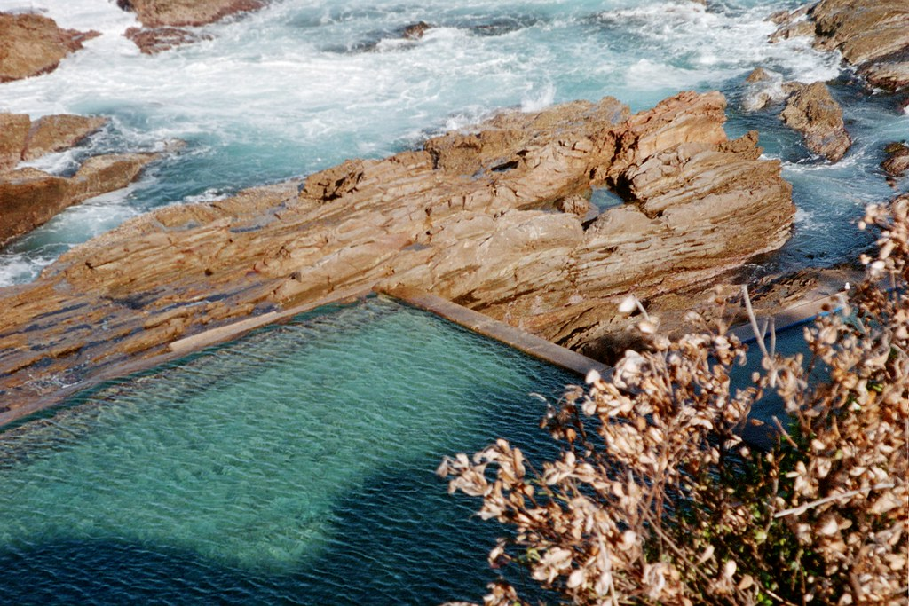 Bermagui Blue Pool, NSW, Australia