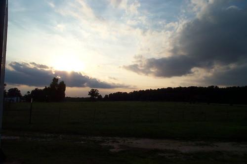 sunset virginia va dinwiddie dinwiddiecounty