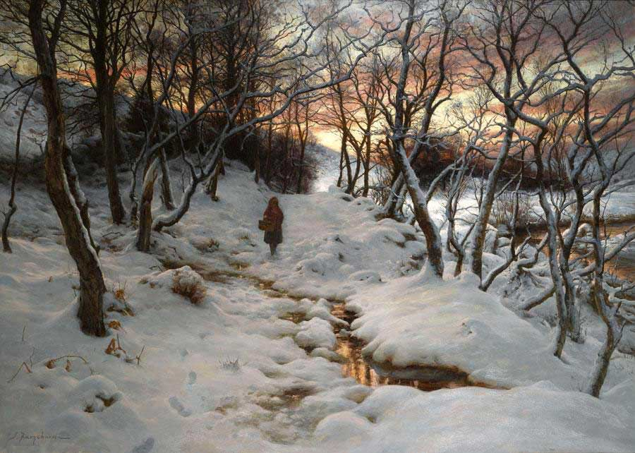 West with Evening Glows by Joseph Farquharson