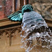 Gargoyle in fountain by Manchester Monkey