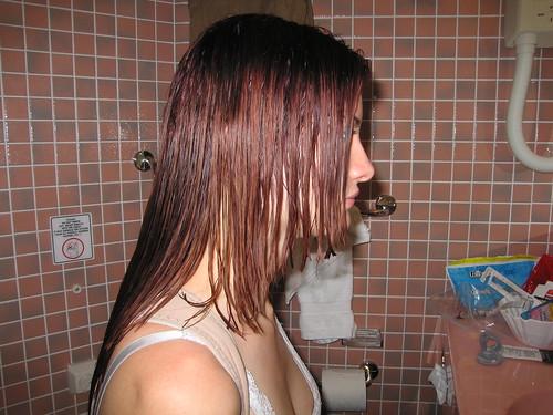 christina gets a haircut