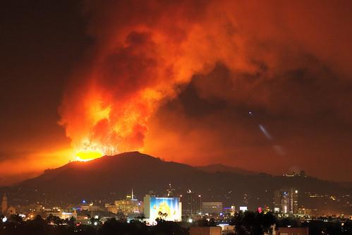 Los Angeles Volcano by The Eye of Brad