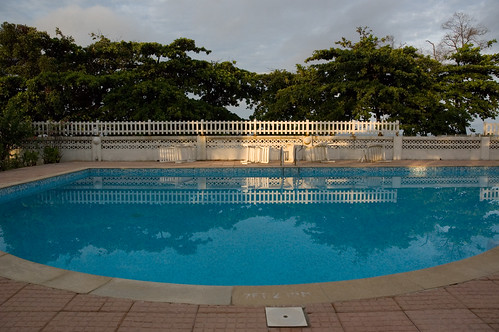 africa sunlight reflection water pool sunrise relax calm serenity westafrica meditation gabon libreville sabliere