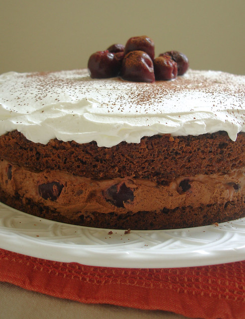 Chocolate Zabaglione Cake