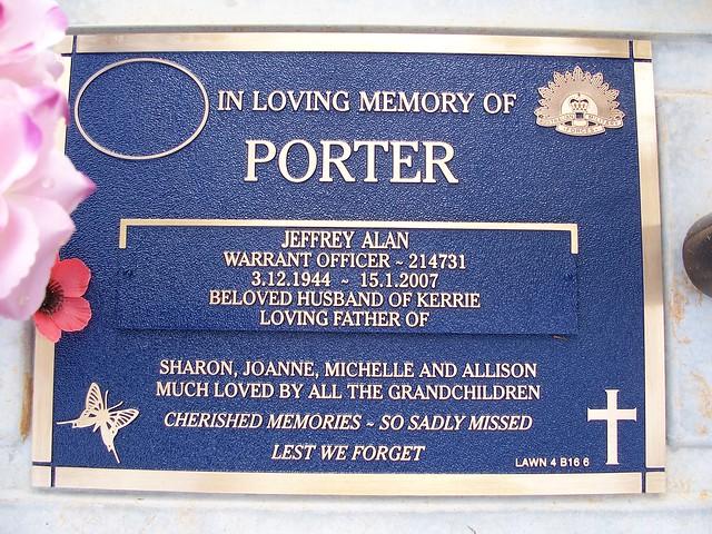 Header of Alan Porter