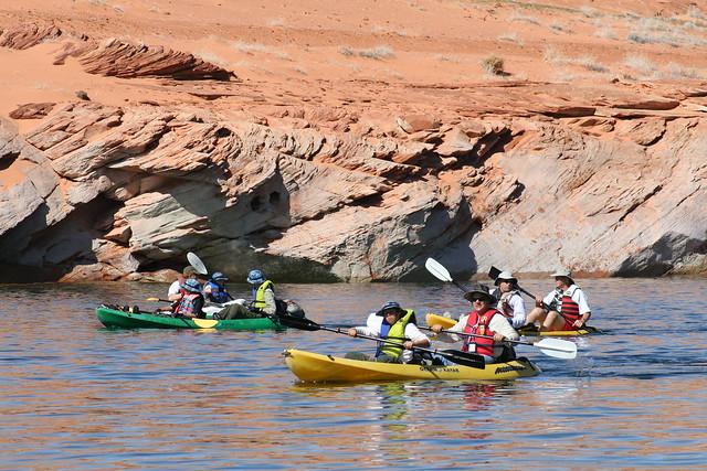 Lake powell kayak 170 flickr photo sharing for Annette hein