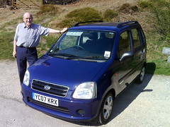 automobile, supermini, vehicle, suzuki wagon r, city car, suzuki, land vehicle,