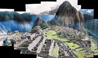 Rosita visits Machu Picchu