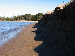 Image of  Hietarannan uimaranta  near  Helsinki. sea beach helsinki sand hietaranta