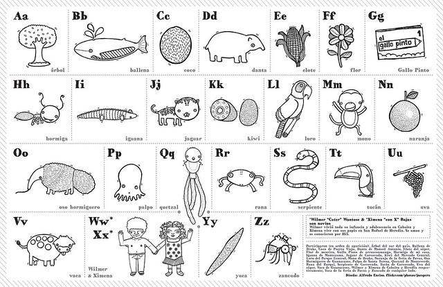Alfabeto Para Colorear: Flickr - Photo Sharing