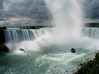 """Maid of the Mist"" in the mist"