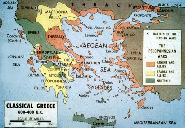 Ancient Greek States Ancient Greek States Peloponnesian Wa Flickr