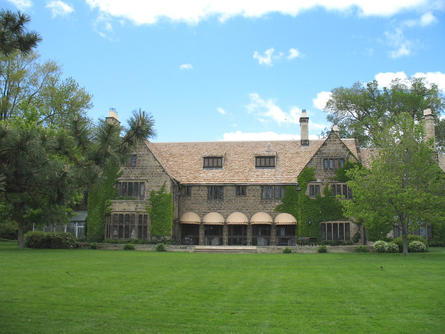 Ford Mansion Grosse Pointe http://www.flickr.com/photos/decojim/496381026/