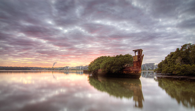 Homebush Shipwreck 3