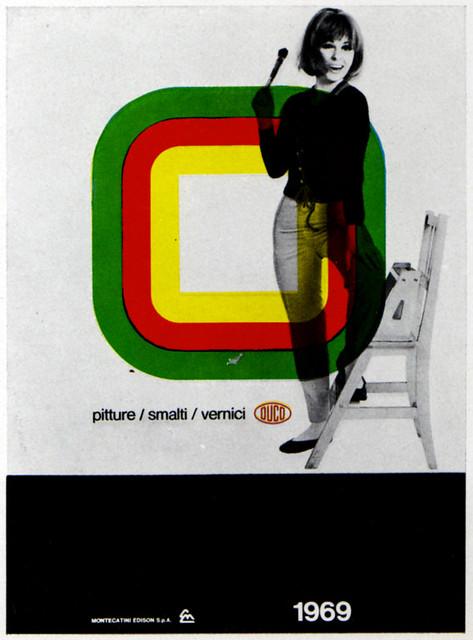1960s Advertising - Calendar - Duco (Italy)
