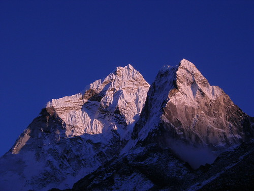 nepal sunset mountains expedition himalaya khumbu amadablam node:id=178