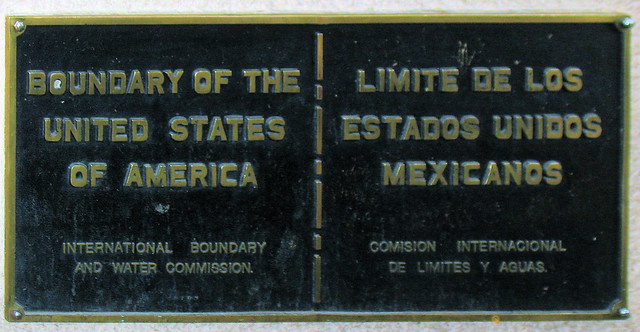 U.S. Mexico border from Flickr via Wylio