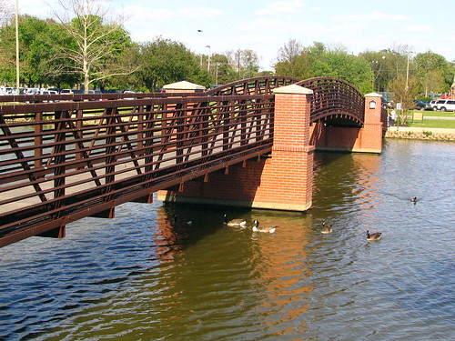 Drakes Creek Park Pedestrian Bridge